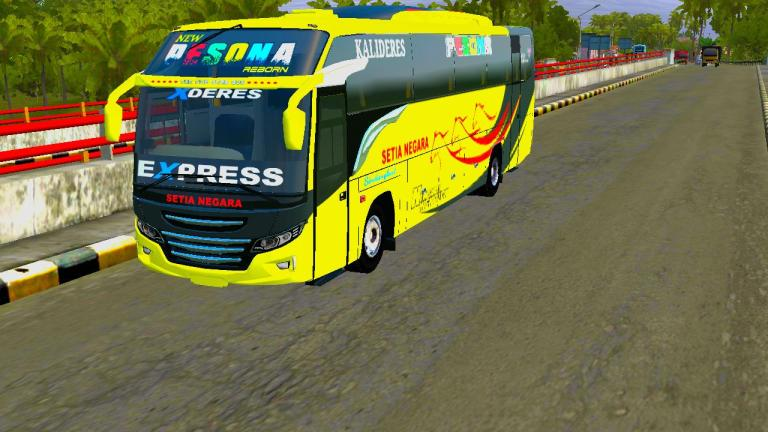 Max HDD Bus Mod for Bus Simulator Indonesia