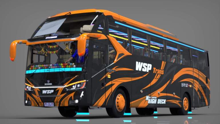 SR2 XHD Mod for Bus Simulator Indonesia
