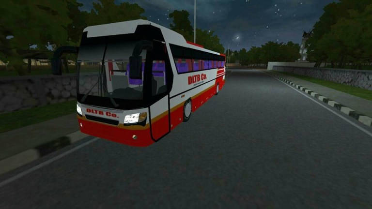DM12 S1 Bus Mod for Bus Simulator Indonesia