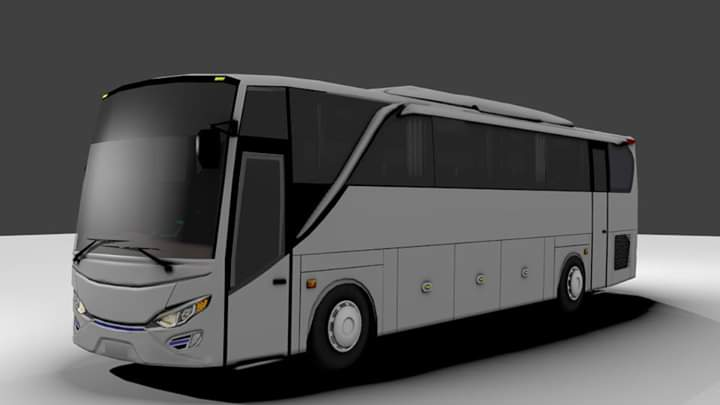 JetBus 2 HD Kuler Mod for Bus Simulator Indonesia