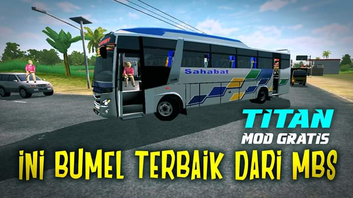 Titan Bumel Bus Mod for Bus Simulator Indonesia