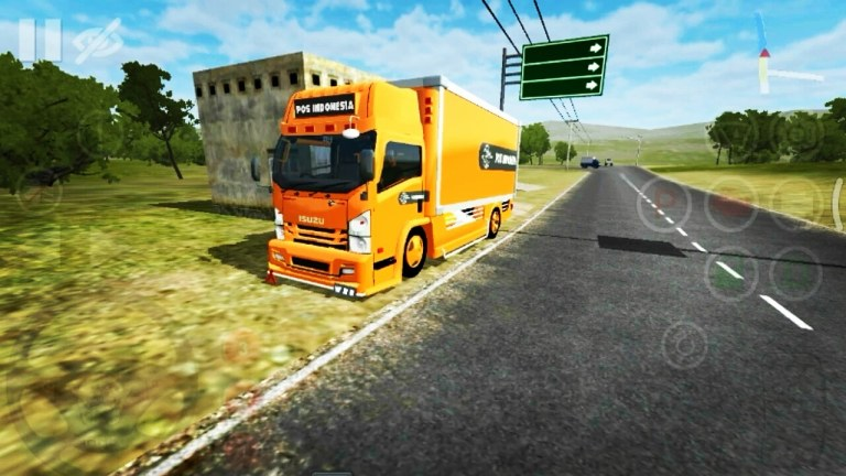 ISUZU NMR71 BOX HSD Mod for Bus Simulator Indonesia