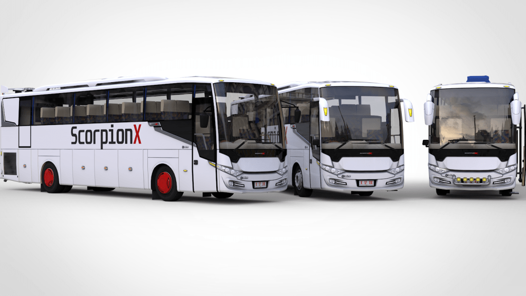 Download Scorpion X BSW Bus Mod for Bus Simulator Indonesia, Scorpion X BSW, BUSSID Bus Mod, BUSSID Vehicle Mod, Scorpion X BSW, UMPmod's, WSPMods