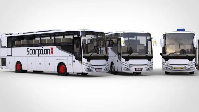 Scorpion X BSW Bus Mod for Bus Simulator Indonesia