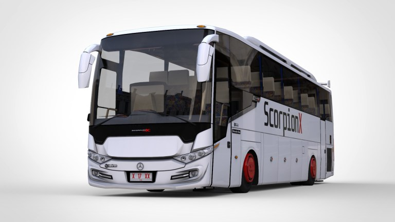Scorpion X BSW Bus Mod for Bus Simulator Indonesia