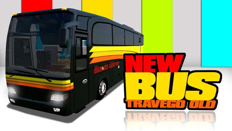 Travego Old Bus Mod for Bus Simulator Indonesia
