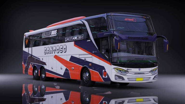 Jb3 Tronton Scania Mod for Bus Simulator Indonesia