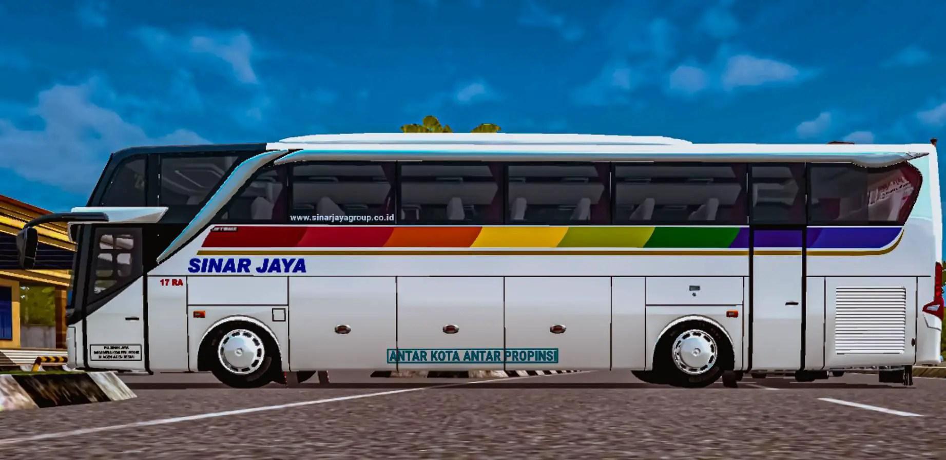 Download JetBus3 Mod for Bus Simulator Indonesia, JetBus3, BUSSID Bus Mod, BUSSID Vehicle Mod, JB3 Mod, JB3 SHD bus Mod, ZTOM