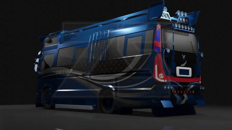 Sutra 86 Mod for Bus Simulator Indonesia
