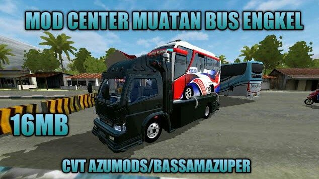 Center Load Bus Engkel Mod for Bus Simulator Indonesia