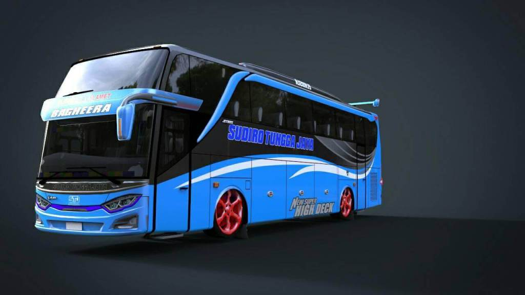 JB3 Racing Edition, JB3 Racing Edition Bus Mod, Mod BUSSID