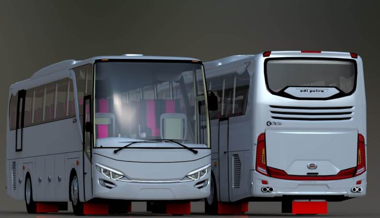 New Setra JetBus 2+ Mod for BUSSID by MD Creation