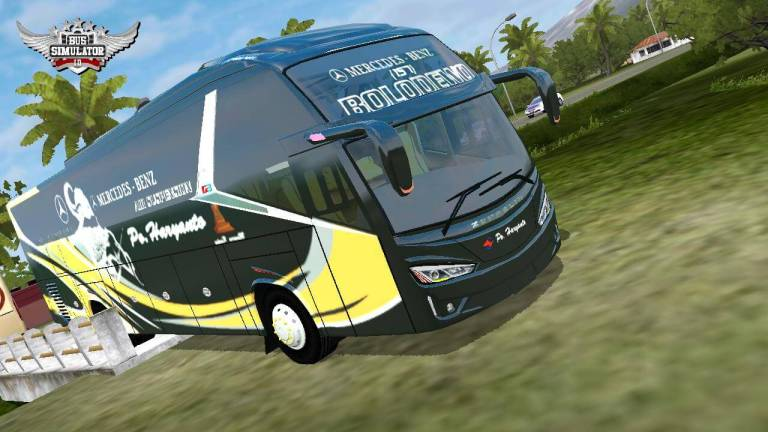 Zepplin G3 Bus Mod for BUSSID by MBS Team
