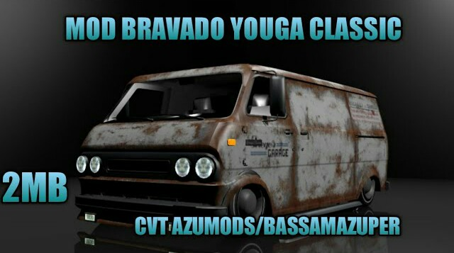 Bravado Youga Classic Mod for Bus Simulator Indonesia
