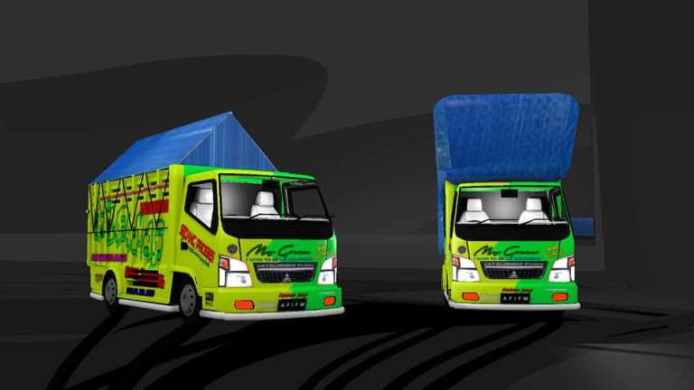 CANTER Mod for Bus Simulator Indonesia