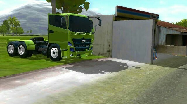 Hino 500 Ng Tractor/Trailer Head Mod for BUSSID