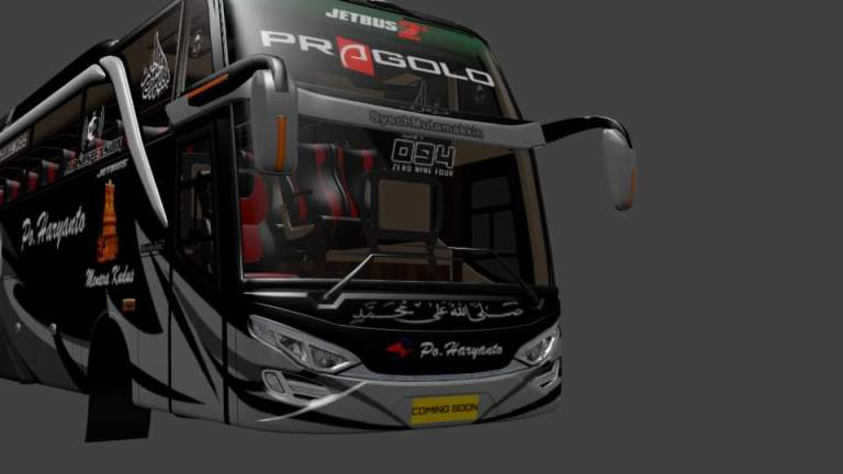 JB 2 HDD Bus Mod for Bus Simulator Indonesia