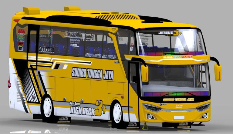 JetBus 3+ Facelift & Voyager Mod for Bus Simulator Indonesia
