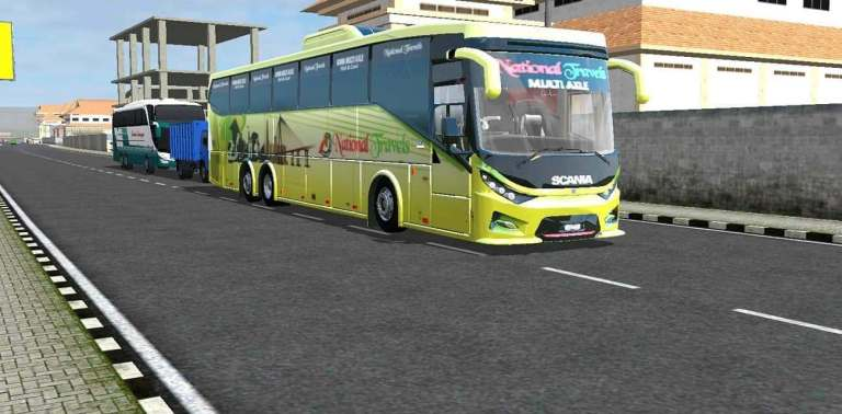 SKS Scania K410 Bus Mod for BUSSID by Fahim Auvro