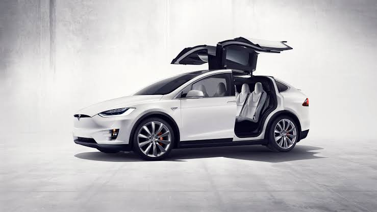 Tesla Model X Car Mod for Bus Simulator Indonesia