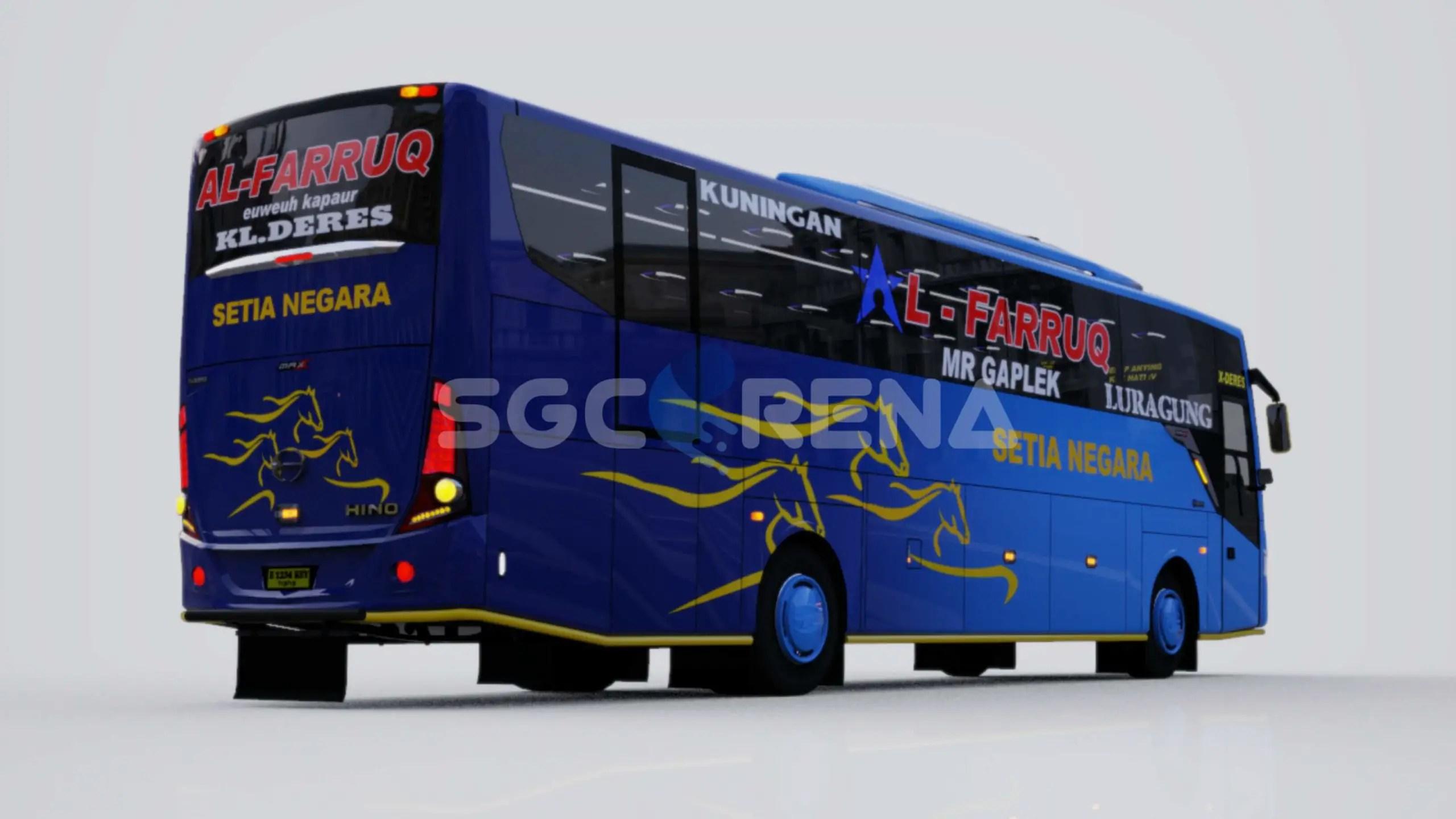 TENTREM MAX Mod for BUSSID - SGCArena