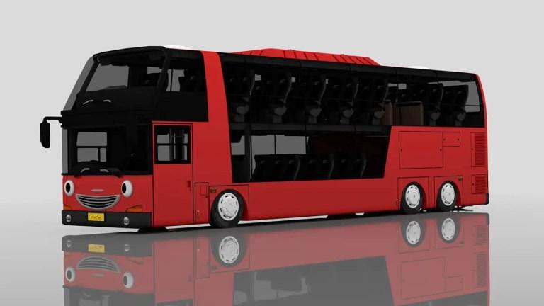 CITO City Bus Mod for Bus Simulator Indonesia