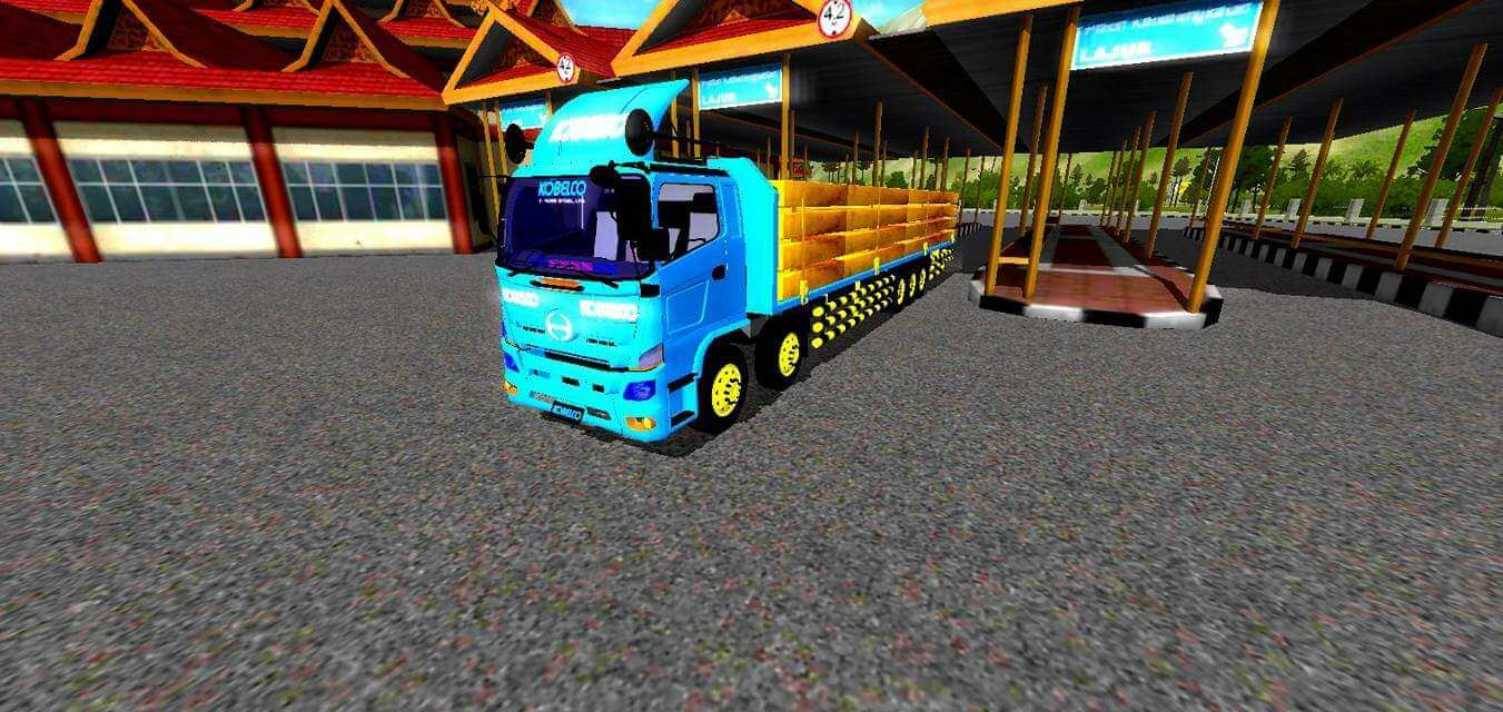 Hino Tribal Mod for BUSSID - SGCArena