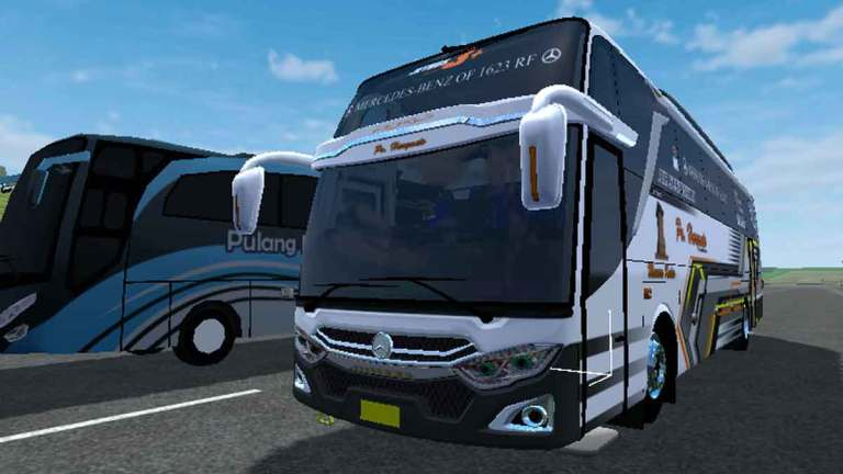 JB3+ MHD Front Engine Mod for Bus Simulator Indonesia