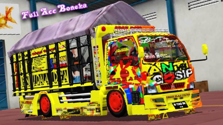Anti Gosip Truck Mod for Bus Simulator Indonesia