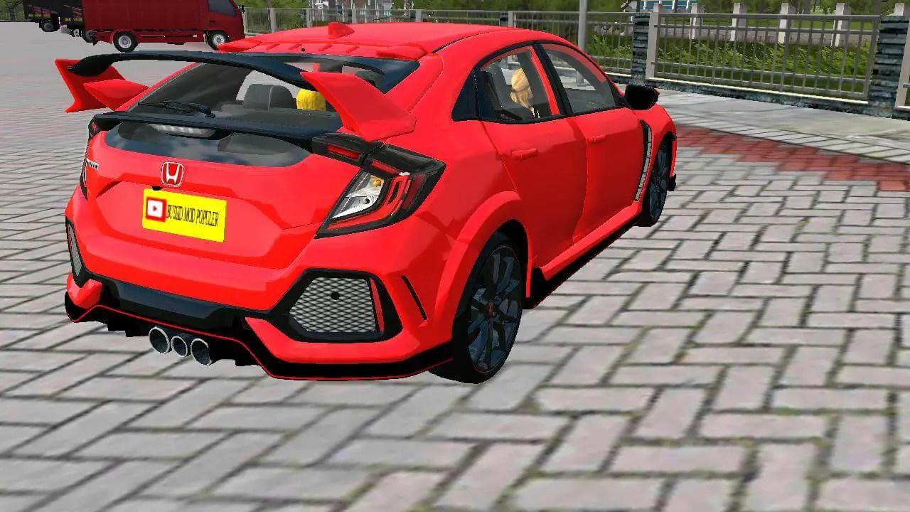 Honda Civic Type R Mod for BUSSID - SGCArena, Honda Civic, Honda Car Mod, Honda BUSSID Mod, BUSSID Mod,