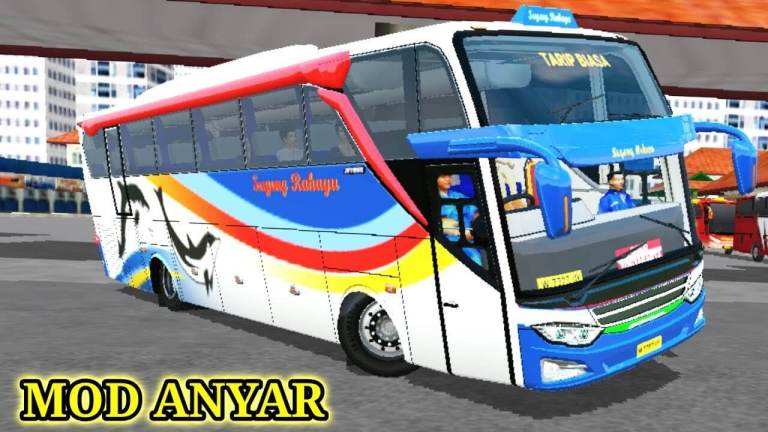 JB3 AK8 Bus Mod for Bus Simulator Indonesia