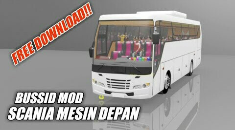 Scania Adiputro Mod for Bus Simulator Indonesia
