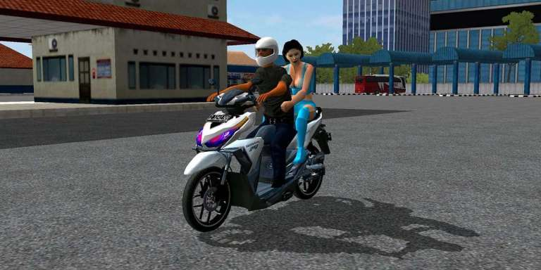 Vario 150CC Motor Mod for Bus Simulator Indonesia