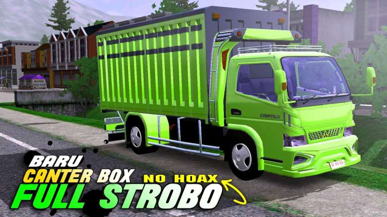 Canter Box Mod for Bus Simulator Indonesia