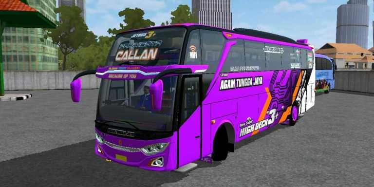 UPDATE JB3+ VOYAGER NEW GEPREK Mod for BUSSID