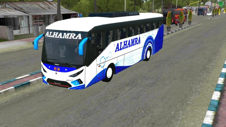 SKS Bi-Axel E138i Mod for Bus Simulator Indonesia