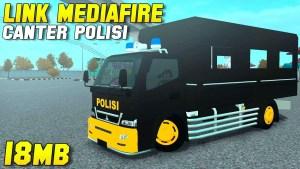 Canter Police Truck, Canter Police Truck Mod, Canter Police Truck Mod for BUSSID, Mod Canter Police Truck, Mod BUSSID Canter Police Truck, BUSSID Mod, SGCArena