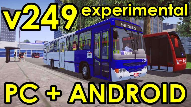 Proton Bus New Test – V249 With More Fixes