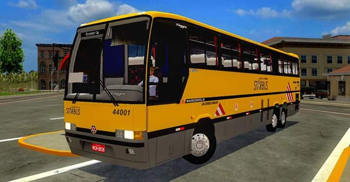 VIAGGIO GV 1150 Mercedes Benz O-400RSD Mod for PBS
