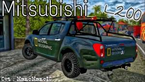 Mitsubishi L200, Mitsubishi L200 Mod, Mitsubishi L200 Mod BUSSID, Mod Mitsubishi L200, Mod BUSSID Mitsubishi L200, Mitsubishi L200 Mod for BUSSID, BUSSID Mod, SGCArena