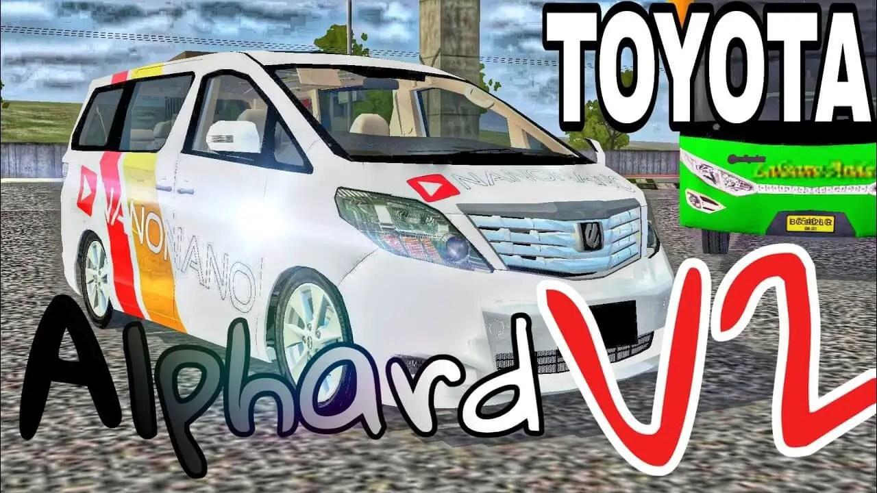 Toyota Alphard V2 Car Mod For Bus Simulator Indonesia Sgcarena