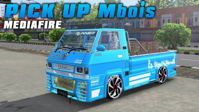 Mitsubishi L300, Mitsubishi L300 Mod BUSSID, Mod BUSSID Mitsubishi L300, BUSSID Mod, Mod for BUSSID, Bus Simulator Indonesia Mod, SGCArena