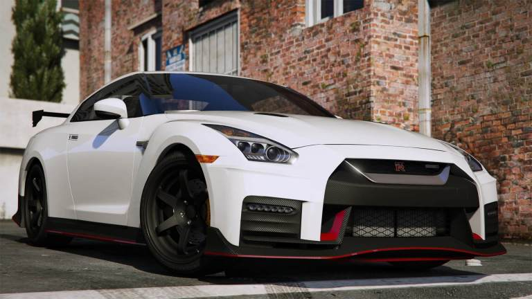 Nissan GTR Vehicles Mod for GTA V