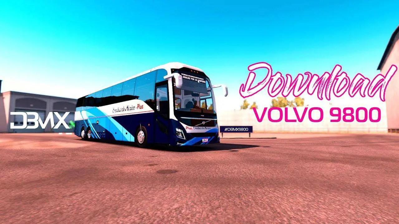 Volvo 9800 Lite, Volvo 9800 Lite Mod ETS2, Mod ETS2 Volvo 9800 Lite, ETS2 Bus Mod, Volvo Bus Mod ETS2, SGCArena