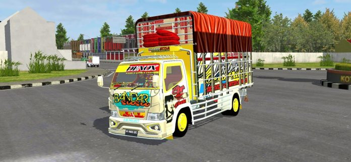 Canter Modern, Canter Modern Mod BUSSID, Mod UBSSID Canter Modern, BUSSID Mod, BUSSID Truck Mod, RMC Creation, SGCArena