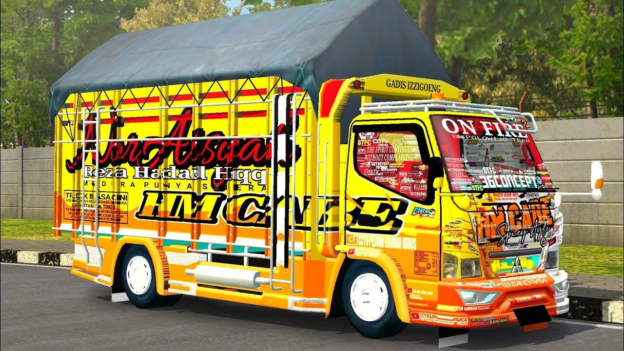Canter HM Cabe, Canter HM Cabe Mod BUSSID , Mod BUSSID Canter HM Cabe, Mod Canter HM Cabe BUSSID BUSSID Truck Mod, BUSSID Mod, ADS, SGCArena