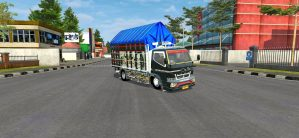 Canter My Black Update, Canter My Black Update Mod BUSSID, Mod BUSSID Canter My Black Update, mod Canter My Black Update BUSSID, BUSSID Truck Mod, SGCArena, RMC Creation