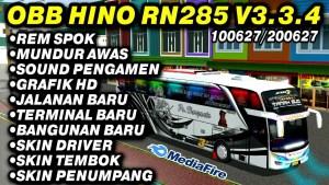 Download BUSSID V3.3.4 Obb Mod: Rombak Sound Hino RN285 Rem Spok, , BUSSID Graphic Mod Obb, BUSSID OBB Mod, Ilhamss TV