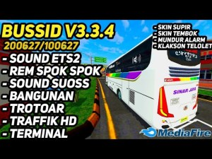 Download BUSSID V3.3.4 Obb: Update Latest ETS2 Suoss Spokk, , Bang Sadewa, BUSSID Graphic Mod Obb, BUSSID OBB Mod