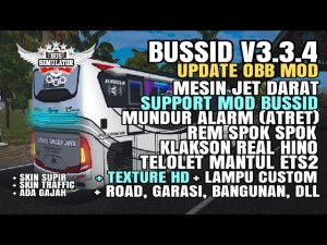 Download BUSSID V3.3.4 Obb: Sound Jet Darat Support Mod + Texture Hd Dll, , BUSSID OBB Mod, Famnuery